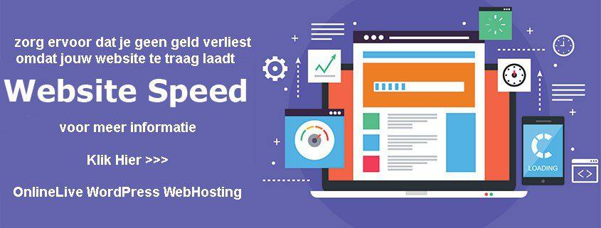 Snelheid is Ranking is Omzet � Het internet wordt steeds mobieler en Google kijkt steeds kritischer naar de laadtijd van een website